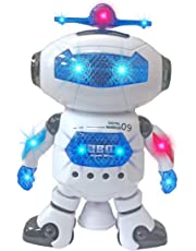 Popsugar Dancing Robot with Flashing Lights and Music,
