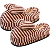 CASON - Warm Winter Cotton Indoor Shoes for Women,Home Bedroom Indoor Slippers for Girls,Women (Fits Indian Size 5-8/Free Siz