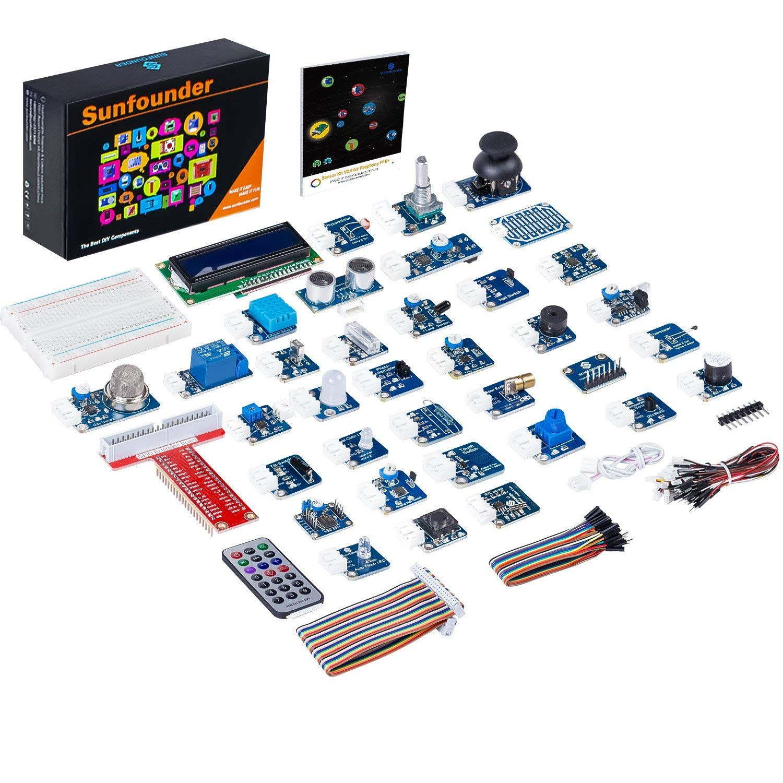 Kit de 37 sensores para Raspberry Pi de Sunfounder - Sensores y kits -  Raspberry para novatos