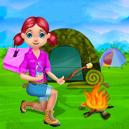 Camping Urlaub Kinder : Sommerlager Spiele und Aktivitäten von für Kinder und Mädchen in diesem Spiel Camping - KOSTENLOS (Spaß Camping)