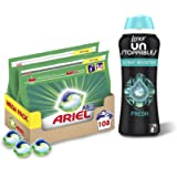 Ariel All-in-1 Pods, Washing Liquid Laundry Detergent Tablets/Capsules, 108 Washes (54 x 2) with Lenor Unstoppables In…