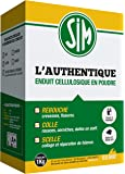 BEMR BMSIM01 Enduit Sim l'Authentique en 1 kg Blanc