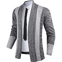 iClosam Cardigan Uomo Invernale Casual Slim Maglione Maglia Sweater Pullover Giacca Coat