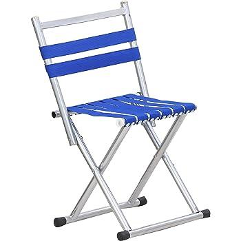 Vivir 2 in 1 Mini Folding Chair And Stool (Blue)