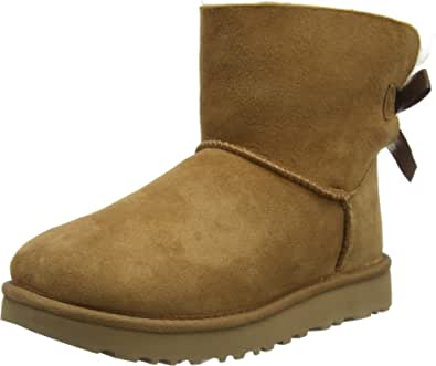 UGG Mini Bailey Bow II, Classic Boot Donna