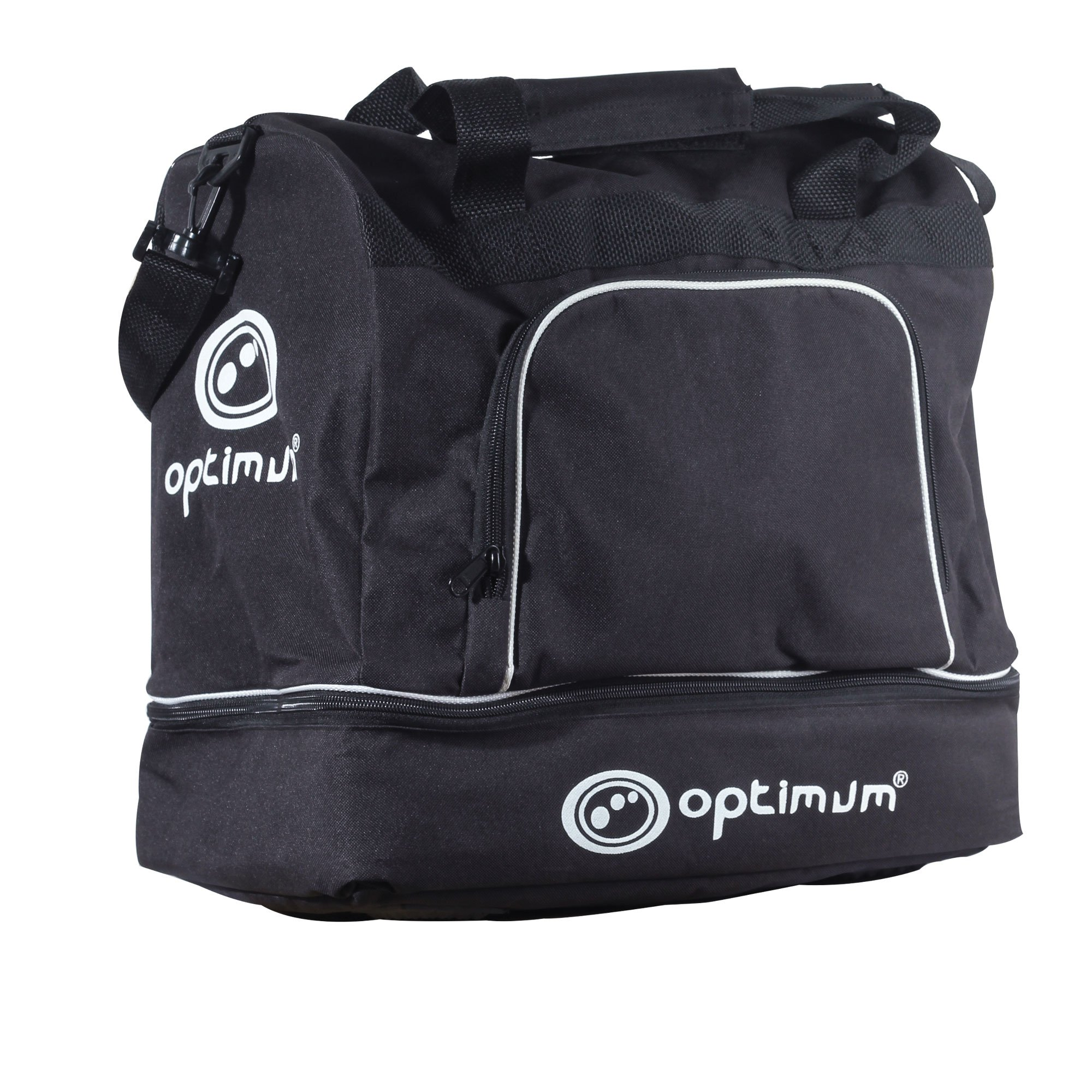 Optimum de reproductor Kit bolsa, color negro/blanco, tamaño JNR
