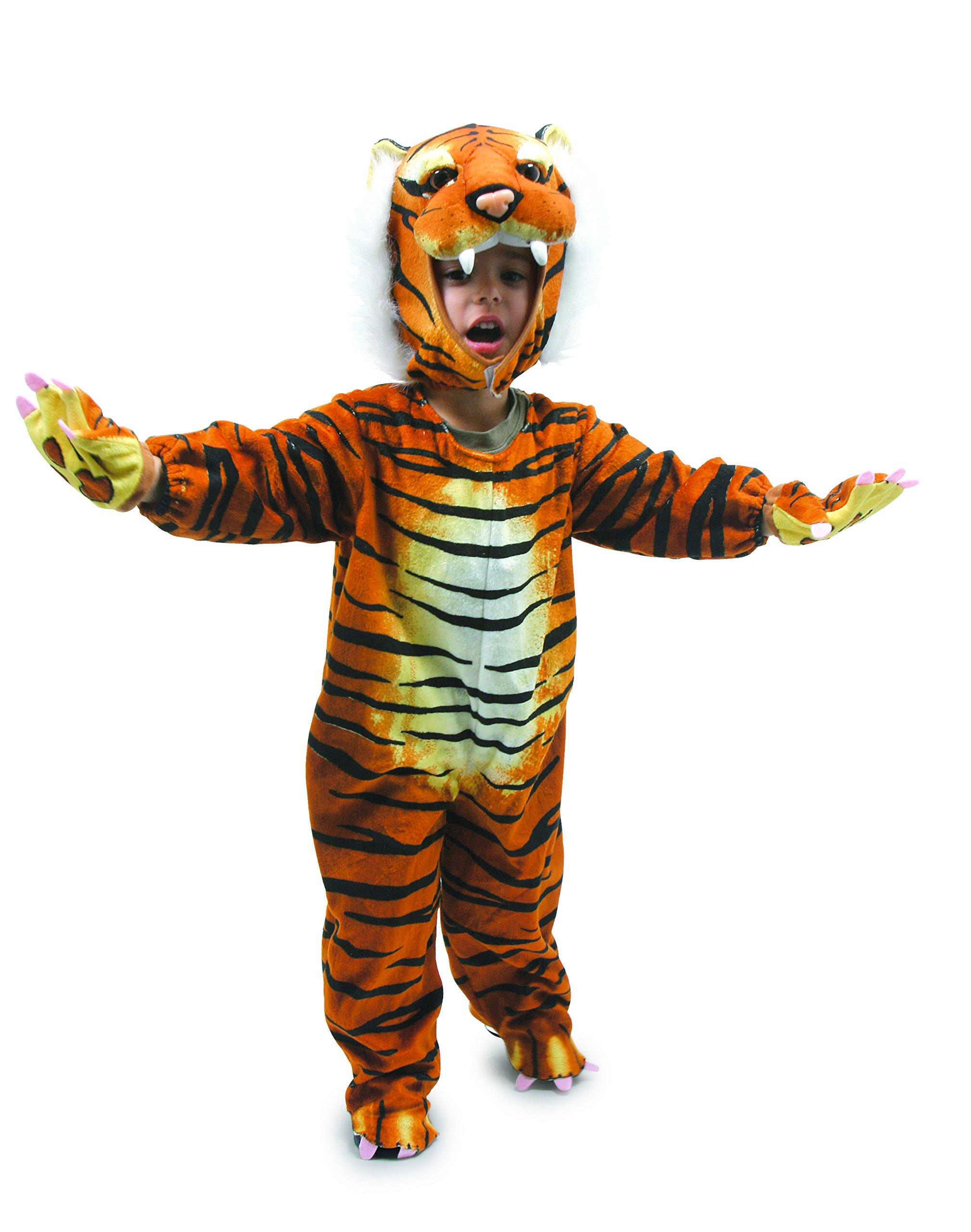 Legler – Disfraz de tigre para niño, talla única (5630) , Modelos/colores Surtidos, 1 Unidad