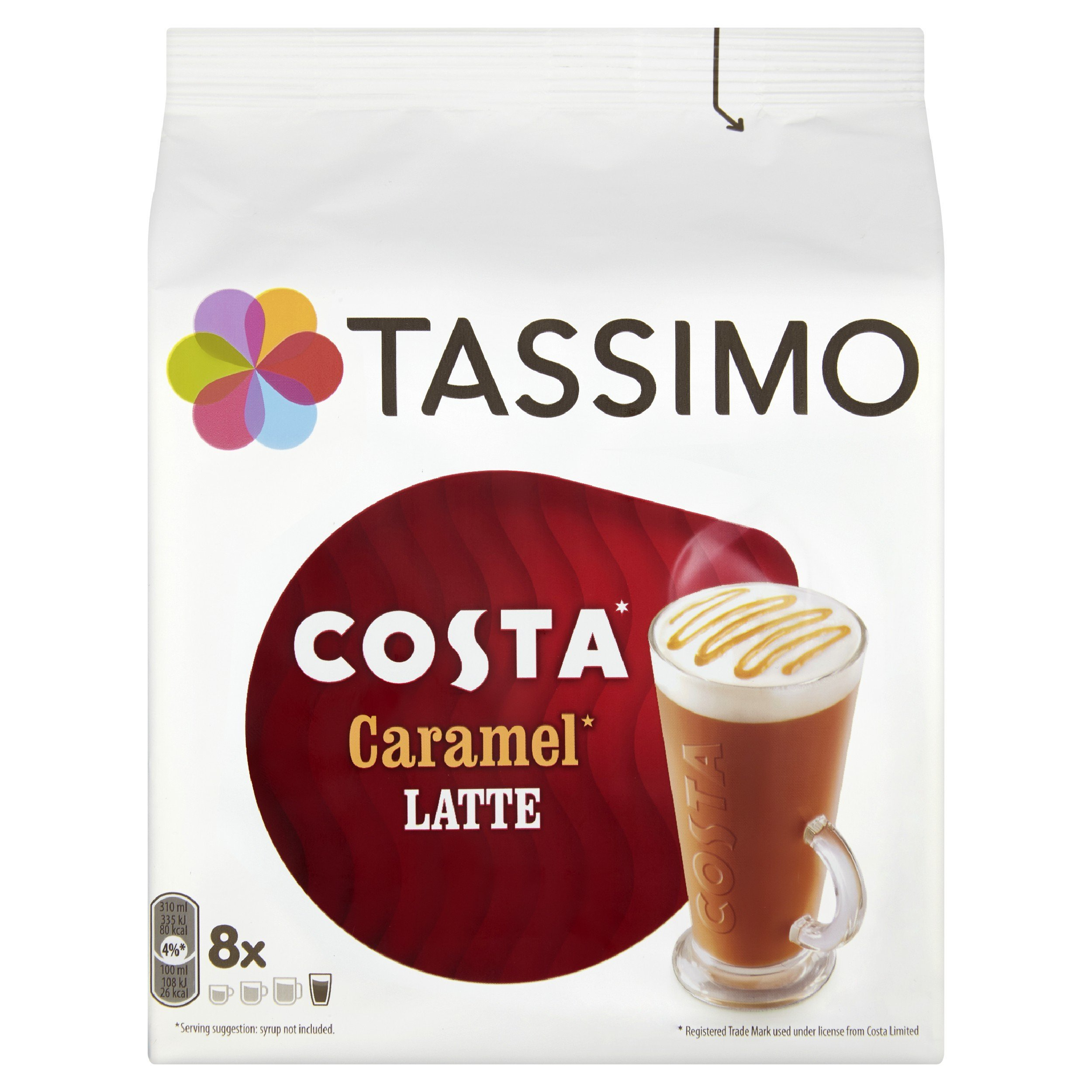 Tassimo T-Disc coffee pods and capsules