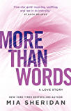 More Than Words (English Edition)