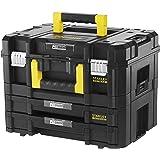 Stanley FatMax FMST1-71981 Gereedschapskoffer, inhoud 21,5 liter, met 2 laden en organizers, voor kleine onderdelen, met meta