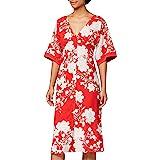 Marca Amazon - Truth & Fable Vestido Kimono Midi Mujer