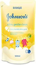 Johnson's Baby Laundry Detergent - Ultra Gentle Clean (500ml)