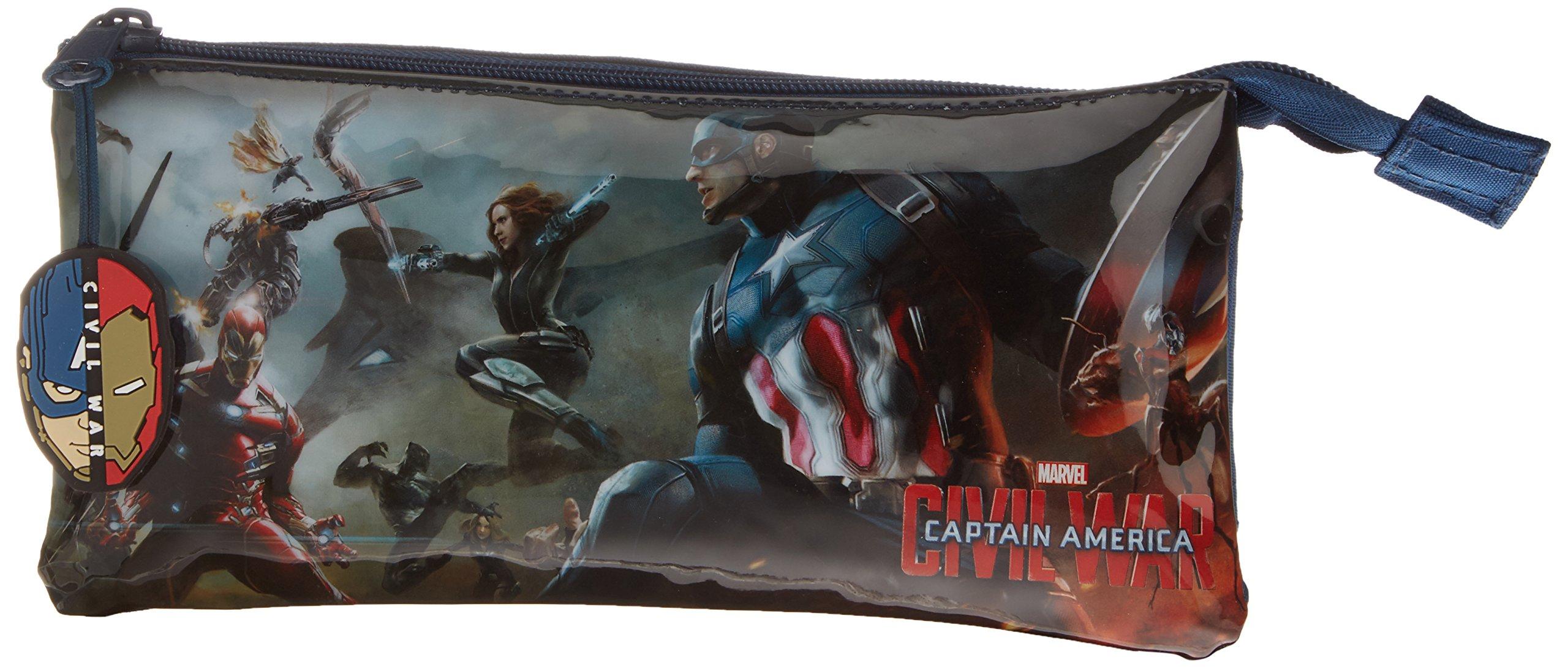 Avengers – Estuche portatodo Triple (SAFTA 811609744)