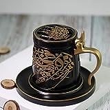 Bakhoor BoSidin - Bakhoor Incense Burner Oud Burner Ceramic Mabkhara Charcoal Bakhoor Burner Mug/Cup Design - Z0509B