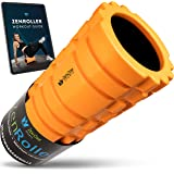 ZenRoller Foam Roller for Deep Tissue Muscle Massage, Trigger Point Massager, Muscle Tension Relief, promotes Blood Circulati
