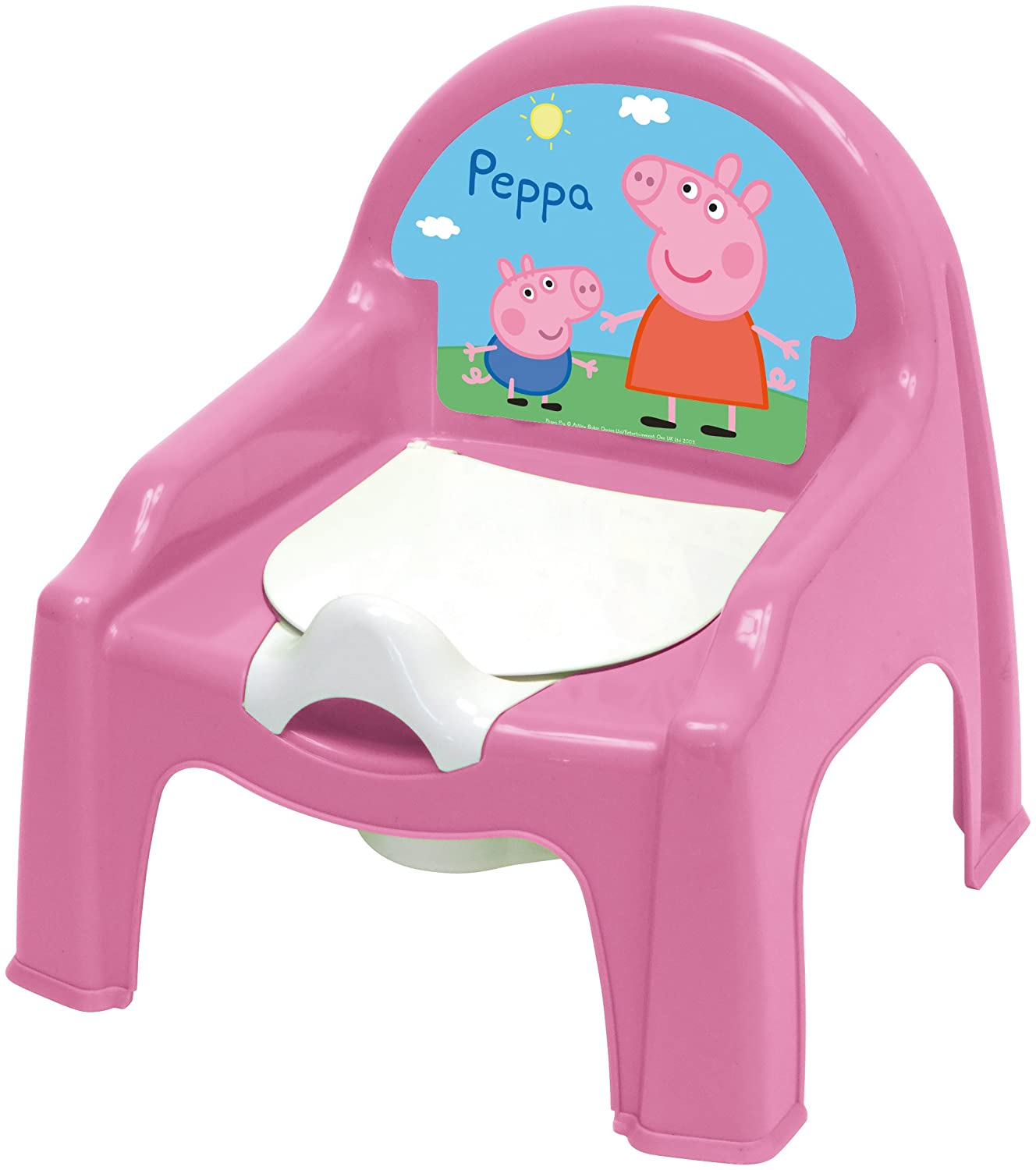 Pat Patrol Learning Potty Chair plastic Rose 30x30x35 cm