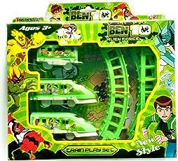 Bokey Ben Ten All New Alien Force Train Toy