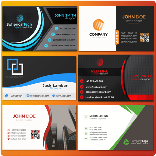 Business card maker amazon appstore for android reheart Choice Image