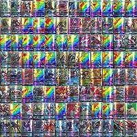 120 Pcs Carte de Pokemon Enfants GX Cartes À Collectionner Carte De Jeu De Bande Dessinée avec 115 GX Pokemon Cartes Et…