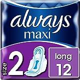 Always Maxi Long Size 2 ręczniki higieniczne (12 poduszek)