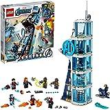 LEGO Super Heroes Battaglia sulla Torre, Set di Costruzioni Ricco di Dettagli per Bambini +8 Anni e per i Fan Marvel Avengers