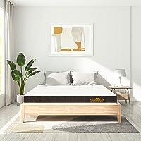 SleepyCat Original- 3 Layered Orthopedic Gel Memory Foam Mattress, Single Bed Size, Medium Firm (72x36x6 Inches)