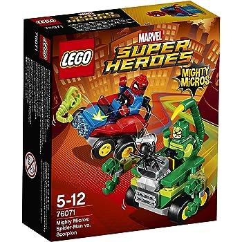 LEGO Super Heroes 76071 - Mighty Micros: Spider-Man Contro Scorpione