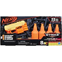 Nerf Alpha Strike Fang QS-4 Targeting Set, 13-Piece Set Includes Toy Blaster, 4 Half-Targets, and 8 Official Nerf Elite…