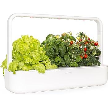 Click & Grow 9Smart Garden 9Fioriera per interni, bianco, 62x 18,4x 39.6cm