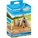 PLAYMOBIL Meerkats 70349 Animals for The Event Zoo City Life