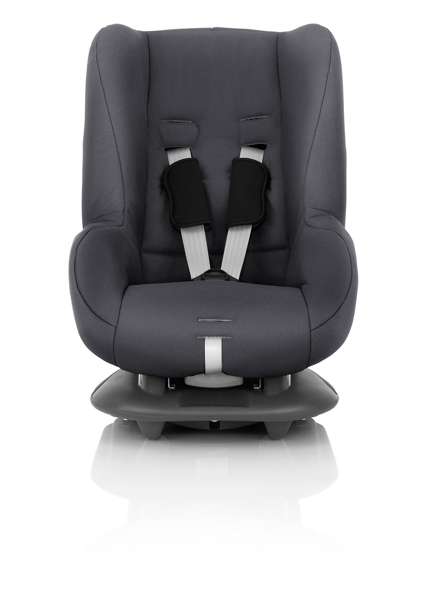 Britax Römer ECLIPSE Group 1 (9-18kg) Car Seat - Storm Grey Britax Römer Deep, protective side wings - our soft, padded side wings act as a protective cocoon that helps to absorb the force from a side impact, reducing the risk of injuries to your child. Easy adjustable headrest and harness - our padded headrest and harness can easily be adjusted with one hand to suit your child's height. 5-point harness - we believe a 5-point harness is the safest way to secure your child in a car seat because it keeps your child safe and tight in the seat's protective shell. 2