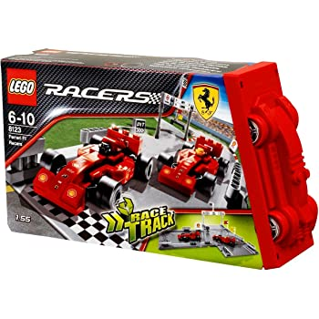 lego 8123 jeu de construction racers ferrari f1 racers jeux et jouets. Black Bedroom Furniture Sets. Home Design Ideas