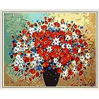 Maysurban Peinture au Numéro Kits avec Brosses et Peintures Acryliques pour Adultes Enfants Seniors Débutant, DIY…