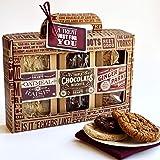 Lottie Shaw's Luxury 3 Pack Biscuit Gift Box - Great Taste Award Winner Oatmeal & Raisin Triple Chocolate Ginger Parkin 100%