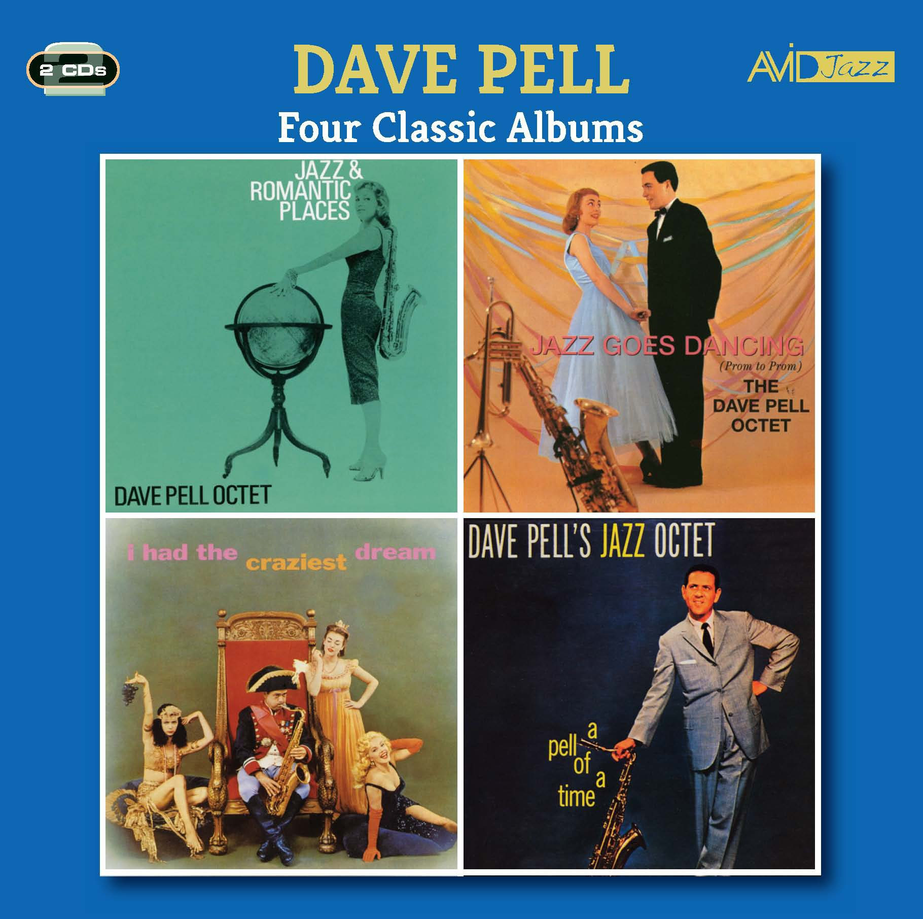 Four Classic Albums (Jazz And Romantic Places / Jazz Goes Dancing / I Had The Craziest Dream / A Pel