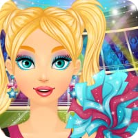 Cheerleader Salon: Spa, Makeup and Dress Up Girly Girl Makeover Games with Face Paint