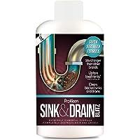 1L of Pro-Kleen Sink & Drain Blitz - Plughole, Sink & Drain Unblocker - Super Strength Formula