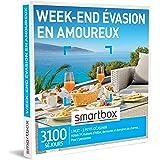 Smartbox - Coffret Cadeau Femme Homme - Week-End évasion en Amoureux - idée Cadeau - 1 Nuit avec Petit-déjeuner pour 2 Person