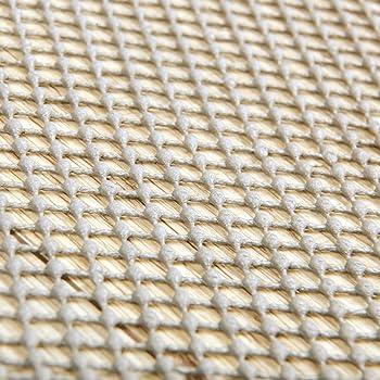 Teppichstop Antirutschmatte Fu/ßbodenheizung geeignet Ma/ße w/ählbar Power-Preise24 Teppichgleitschutz in Wei/ß//Beige Gr/ö/ße:60 x 130 cm Rutschhemmende Teppichunterlage waschbar und zuschneidbar