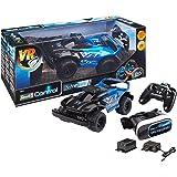 Revell 24817 RC Car mit FPV-Kamera Brille-schnelles, Robustes ferngesteuertes Auto mit 2.4 GHz Fernsteuerung, Akku und Ladegerät-VR Racer, bunt