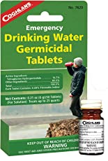 Coghlan's 7620 Drinking Water Tablets - 50 Tablets Model: 7620