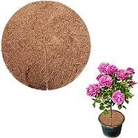 KATELUO 5 Stück Kokos-Mulchscheibe, Kokosmatte Winterschutz, Kübelabdeckung für Pflanzen, Ideal Pflanzenschutzmatte…
