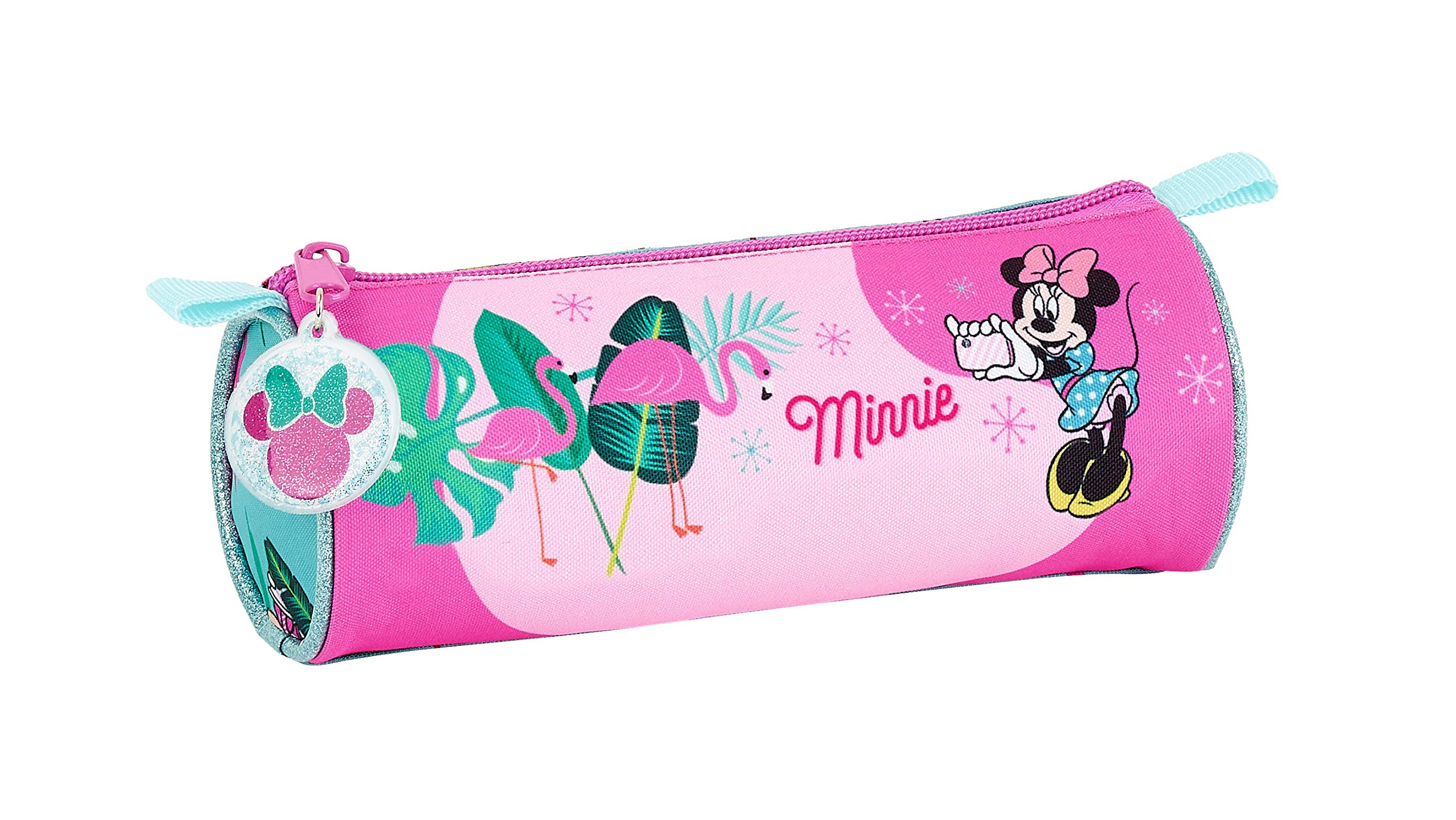 Minnie Mouse «Palms» Oficial Estuche Redondo Oficial Escolar 200x70mm