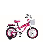 """Vaux Angel 16"""" Pink Kids Bicycle. Ideal for Cyclist with Height (3' 5""""- 4'). Simple & Easy to Assemble."""