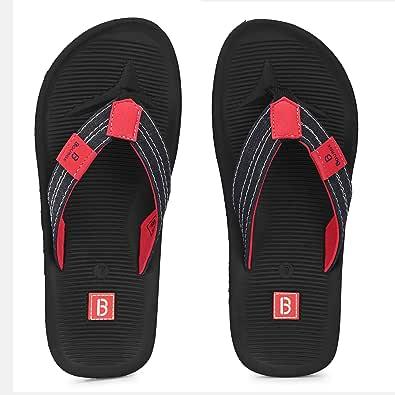 Bourge Men's Canton-z17 Flip Flops