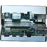 MANOUII Raspberry Pi 4 Coque en Aluminium Passif pour Raspberry Pi 4 sans Ventilateur requis