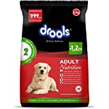 Drools 100% Vegetarian Adult Dog Food, 6.5kg (FREE 1.2kg Extra Inside*Limited Offer Stock)