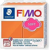Staedtler - Fimo Soft - Pain Pte à Modeler 57 g Cognac