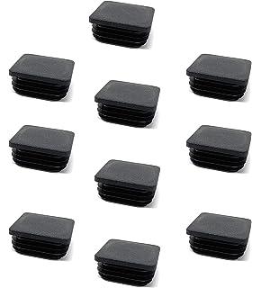 10x Lamellenstopfen 40x40   WEISS  WS 1-2,5 mm Vierkant
