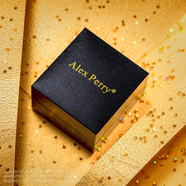 Hosaire Bijoux Ensemble Collier Pendentif Boucles doreilles Cristal Bleu Femme Fille Bijoux pour Soir/ée de Mariage Saint-Valentin F/ête des M/ères de Cadeaux danniversair